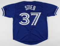 "Dave Stieb Signed Jersey Inscribed ""7x All Star"" & ""No Hitter 9-2-90"" (PSA COA) (See Description) at PristineAuction.com"