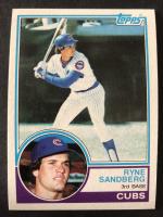 Ryne Sandberg 1983 Topps #83 RC at PristineAuction.com
