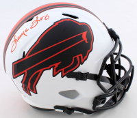 Thurman Thomas Signed Bills Full-Size Lunar Eclipse Alternate Speed Helmet (Beckett COA) at PristineAuction.com