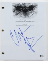 "Christian Bale Signed ""The Dark Knight Rises"" Movie Script (Beckett COA) at PristineAuction.com"