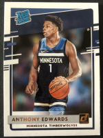 Anthony Edwards 2020-21 Donruss #201 Rated Rookie RC at PristineAuction.com
