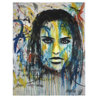 "Jay Johansen Signed ""Huntress"" 40x31 Original Painting on Canvas at PristineAuction.com"