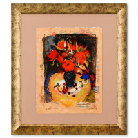 Alexander Galtchansky & Tanya Wissotzky 16x20 Custom Framed Limited Edition Serigraph PP #1/95 at PristineAuction.com