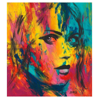 """Jay Johansen Signed """"Just Looking"""" 40x40 Original Painting on Canvas at PristineAuction.com"""