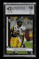 Aaron Rodgers 2005 Press Pass SE #7 (BCCG 10) at PristineAuction.com