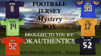 OKAUTHENTICS Pro Football Jersey Mystery Box Series IX at PristineAuction.com