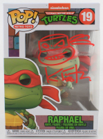 "Kevin Eastman Signed ""Teenage Mutant Ninja Turtles"" #19 Raphael Funko Pop! Vinyl Figure With Hand-Drawn Sketch (Beckett COA) at PristineAuction.com"
