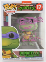 "Kevin Eastman Signed ""Teenage Mutant Ninja Turtles"" #17 Donatello Funko Pop! Vinyl Figure With Hand-Drawn Sketch (Beckett COA) (See Description) at PristineAuction.com"