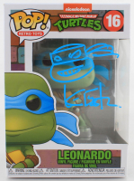 "Kevin Eastman Signed ""Teenage Mutant Ninja Turtles"" #16 Leonardo Funko Pop! Vinyl Figure With Hand-Drawn Sketch (Beckett COA) (See Description) at PristineAuction.com"