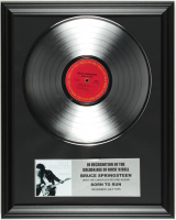 "Bruce Springsteen ""Born to Run"" 16x20 Custom Framed Record Album Display at PristineAuction.com"