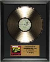 "The Doors ""LA Woman"" 16x20 Custom Framed Record Album Display at PristineAuction.com"