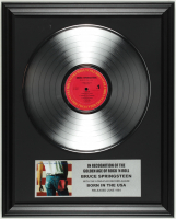 """Bruce Springsteen """"Born In the 'USA"""" 16x20 Custom Framed Record Album Display at PristineAuction.com"""