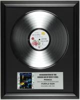 "Prince ""Purple Rain"" 16x20 Custom Framed Record Display at PristineAuction.com"