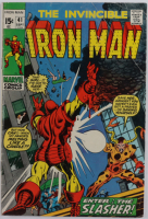 """1971 """"The Invincible Iron Man"""" Issue #41 Marvel Comic Book (See Description) at PristineAuction.com"""