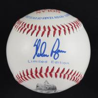 Nolan Ryan Signed Major League Career Baseball With Display Case (PSA COA - Graded 10) at PristineAuction.com