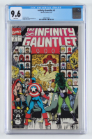 "Vintage 1991 ""The Infinity Gauntlet"" Issue #2 Marvel Comic Book (CGC 9.6) at PristineAuction.com"