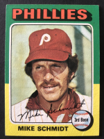 Mike Schmidt 1975 Topps #70 at PristineAuction.com