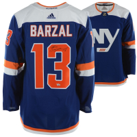 Mathew Barzal Signed Islanders Jersey (Fanatics Hologram) at PristineAuction.com