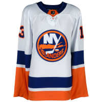 Mathew Barzal Signed Islanders Jersey (Fanatics Hologram) at PristineAuction.com