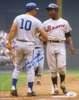 "Ron Santo Signed Cubs 8x10 Photo Inscribed ""1969 AS Game"" (JSA COA) at PristineAuction.com"