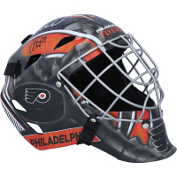 Carter Hart Signed Flyers Full-Size Goalie Mask (Fanatics Hologram) at PristineAuction.com