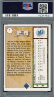 Ken Griffey Jr. Signed 1989 Upper Deck #1 RC (PSA 8) at PristineAuction.com