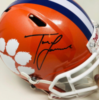 Trevor Lawrence Signed Clemson Tigers Full-Size Speed Helmet (Fanatics Hologram) at PristineAuction.com