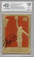 Michael Jordan 1994-00 Bleachers 23 Karat Gold #60 Basketball Texture Black Signature (BCCG 10) at PristineAuction.com