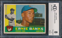 Ernie Banks 1960 Topps #10 (BCCG 8) at PristineAuction.com