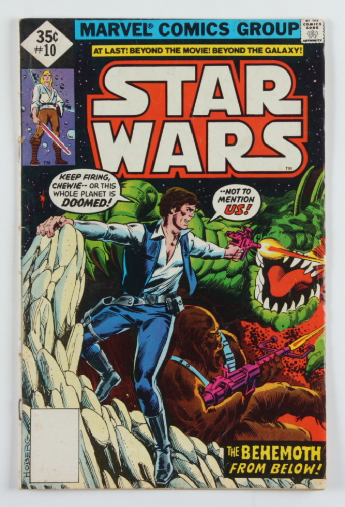 """Vintage 1978 """"Star Wars"""" Issue #10 Marvel Comic Book at PristineAuction.com"""