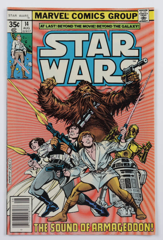 """1978 """"Marvel Comics Group: Star Wars"""" Issue #14 Marvel Comic Book at PristineAuction.com"""
