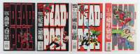 Vintage Set of (4) 1993 Deadpool Marvel Comic Books with #1-4 at PristineAuction.com