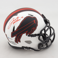 Josh Allen Signed Bills Lunar Eclipse Alternate Speed Mini-Helmet (Beckett COA) at PristineAuction.com