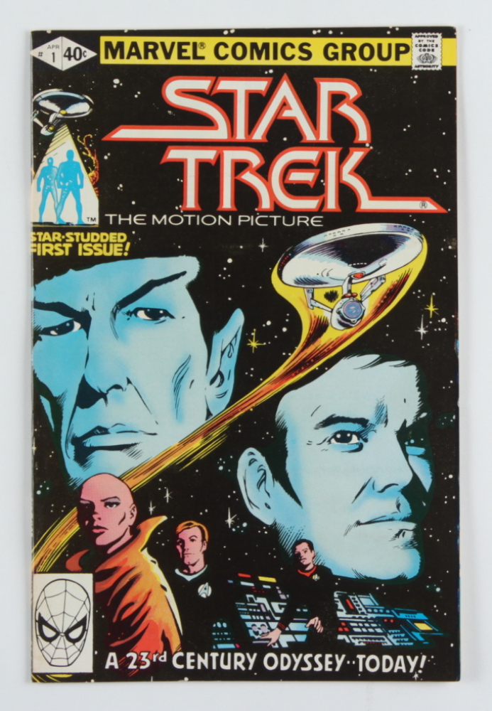 "Vintage 1980 ""Star Trek"" Vol. 1 Issue #1 Marvel Comic Book at PristineAuction.com"