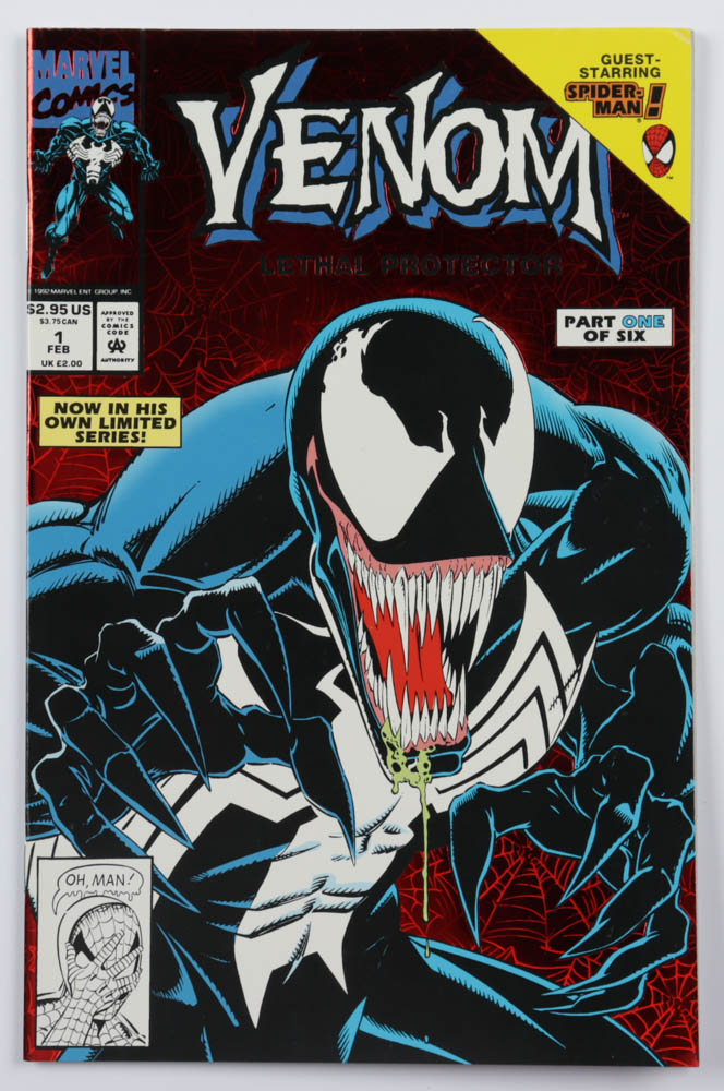 """1993 """"Venom: Lethal Protector"""" Issue #1 Marvel Comic Book at PristineAuction.com"""