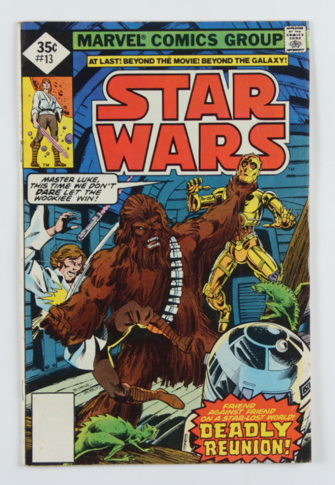 """Vintage 1978 """"Star Wars"""" Vol. 1 Issue #13 Marvel Comic Book at PristineAuction.com"""
