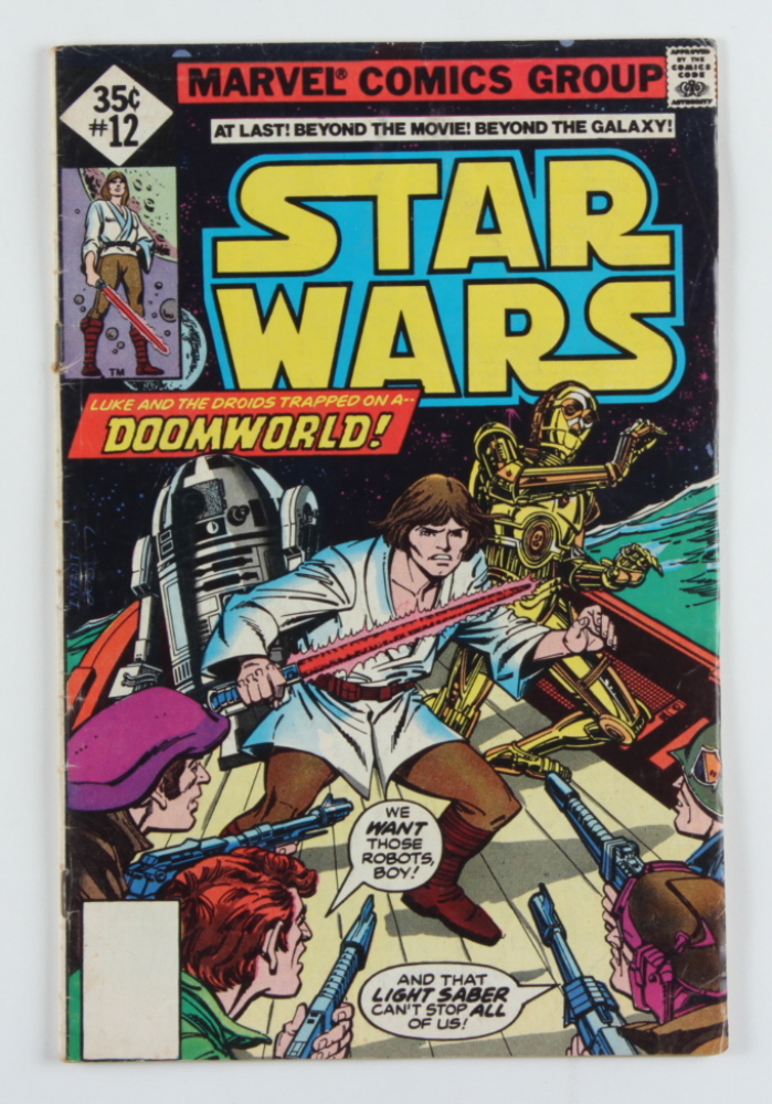 """Vintage 1978 """"Star Wars"""" Vol. 1 Issue #12 Marvel Comic Book at PristineAuction.com"""