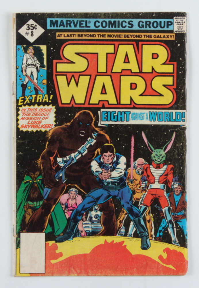 """Vintage 1978 """"Star Wars"""" Vol. 1 Issue #8 Marvel Comic Book at PristineAuction.com"""