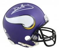Daunte Culpepper Signed Vikings Mini Helmet (Beckett COA) at PristineAuction.com
