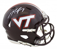 Michael Vick Signed Virginia Tech Hokies Speed Mini-Helmet (JSA COA) at PristineAuction.com
