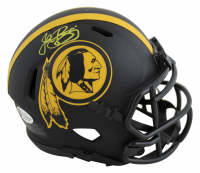 John Riggins Signed Redskins Eclipse Alternate Speed Mini Helmet (Beckett COA) at PristineAuction.com