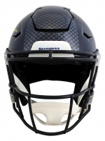 """DK Metcalf Signed Seahawks Full-Size Authentic On-Field SpeedFlex Helmet Inscribed """"Wolverine"""" (Beckett COA) at PristineAuction.com"""
