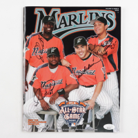 2005 Florida Marlins Program Signed by (4) with Dontrelle Willis, Paul Lo Duca, Luis Castillo, Miguel Cabrera (JSA COA) at PristineAuction.com