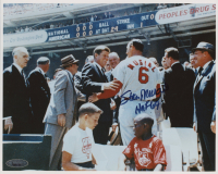 "Stan Musial Signed Cardinals 8x10 Photo Inscribed ""HOF 69"" (Tristar Hologram) at PristineAuction.com"