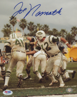 Joe Namath Signed Jets 8x10 Photo (PSA COA) at PristineAuction.com