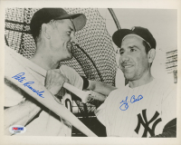 Yogi Berra & Pete Runnels Signed 8x10 Photo (PSA LOA) at PristineAuction.com