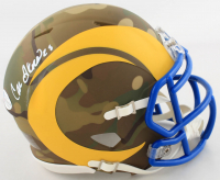 Cam Akers Signed Rams Camo Alternate Speed Mini Helmet (Beckett COA) at PristineAuction.com