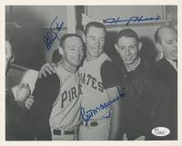 Bill Mazeroski, Elroy Face, & Harvey Haddix Signed Pirates 8x10 Photo (JSA COA) at PristineAuction.com
