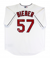 "Shane Bieber Signed Indians Jersey Inscribed ""2020 AL Cy Young"" & ""2020 Triple Crown"" (Beckett COA) at PristineAuction.com"