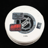 "Torey Krug Signed Bruins ""Hockey Fights Cancer"" Logo Hockey Puck (Krug COA & YSMS Hologram) at PristineAuction.com"